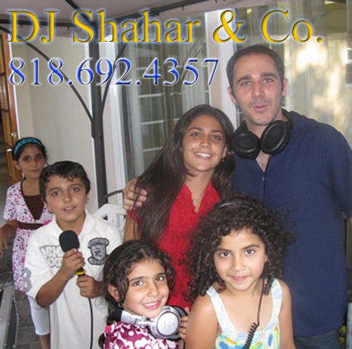 Persian Israeli DJ for Birthdays and Kids Party